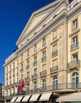 Classy colibri at the Hotel des Bergues Geneva
