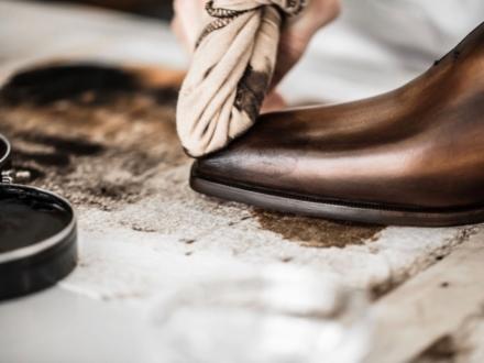 L'entretien des souliers selon Berluti