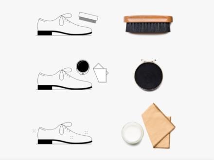 Berluti les trois phases de l'entretien des souliers