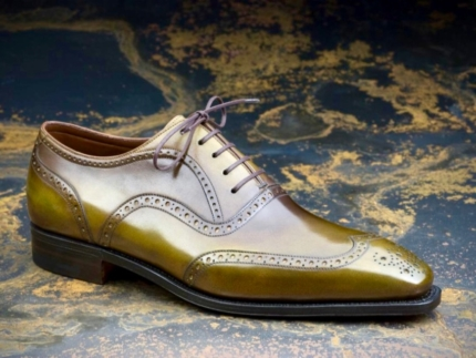 Soulier richelieu brogue Corthay