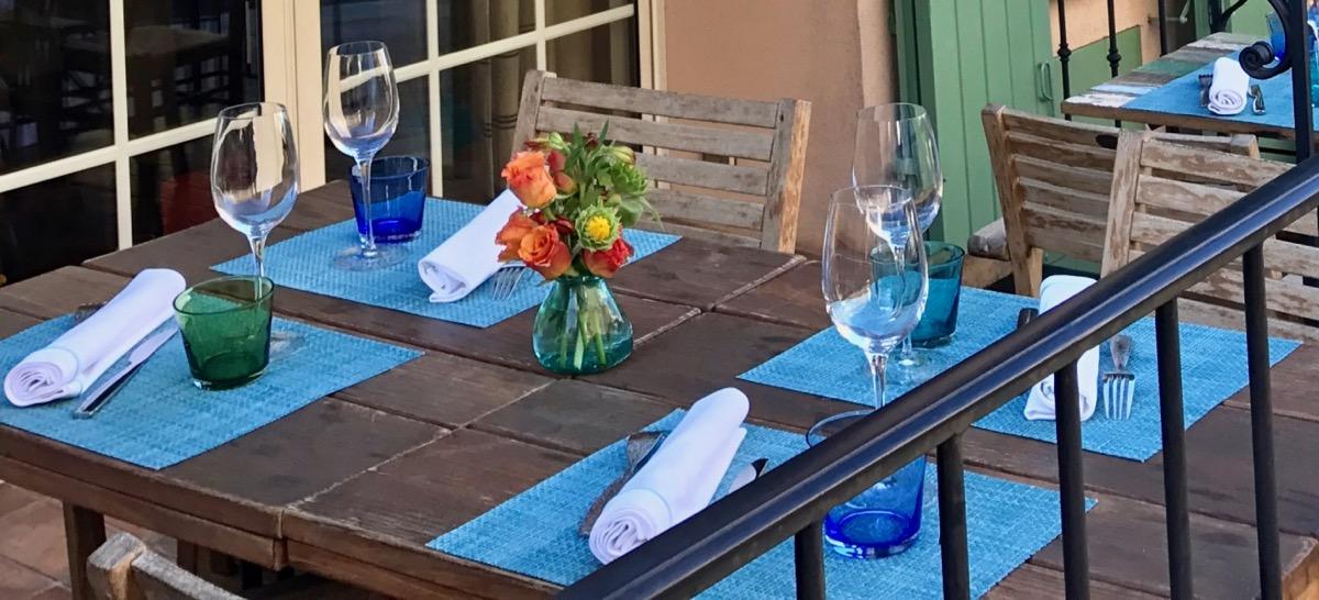 Classy colibri à La Forge Ramatuelle France restaurant italien gastronomique Paolo Amadori