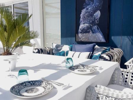 Plage Maison Bianca Beach Club, Pampelonne, Saint-Tropez, Ramatuelle, France