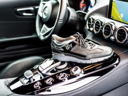 Santoni sneaker for AMG GT